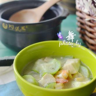 鲜虾豆腐煲