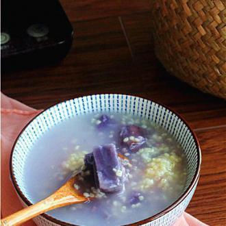 小米紫薯粥