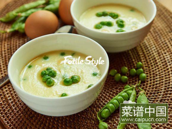 豌豆茶碗蒸