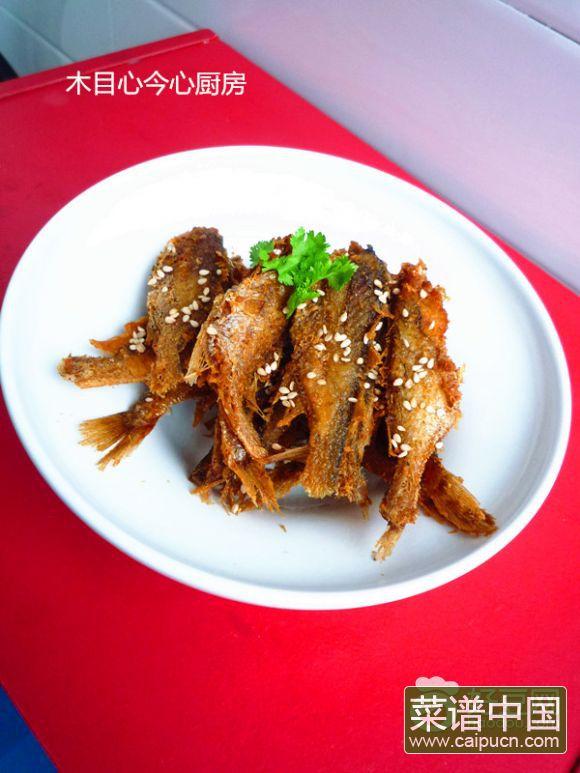 小黄花酥鱼(五香口味)