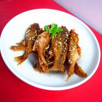 小黄花酥鱼(五香口味