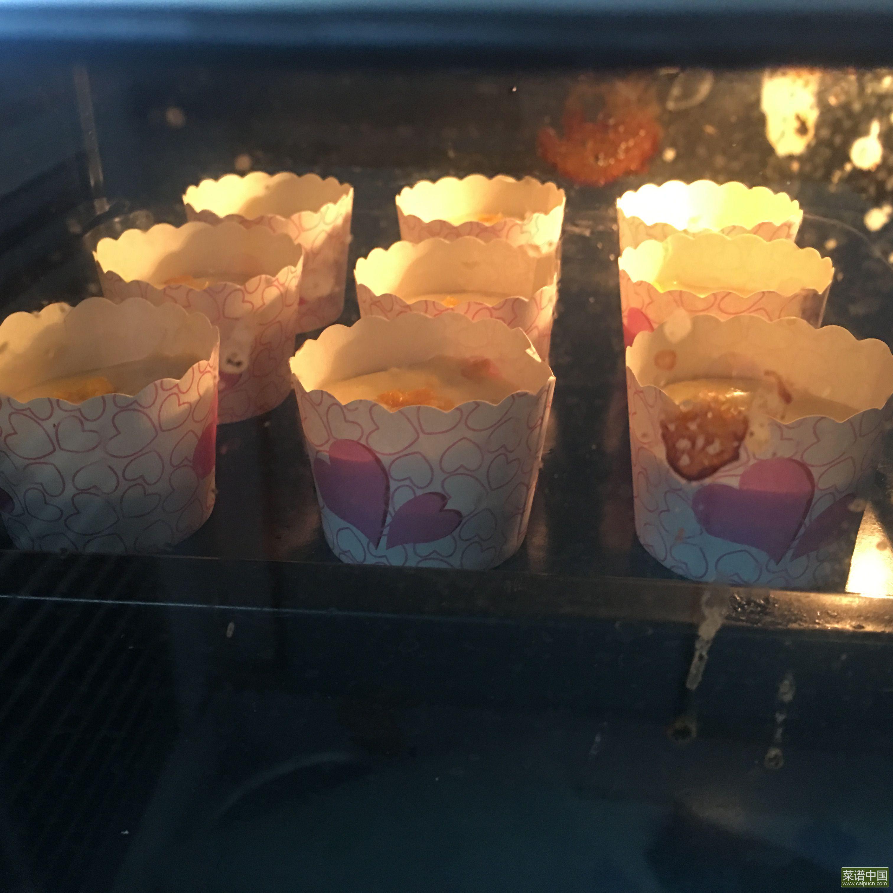 橙皮海绵蛋糕杯的做法步骤10
