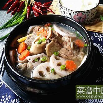 #润秋燥#筒骨莲藕汤