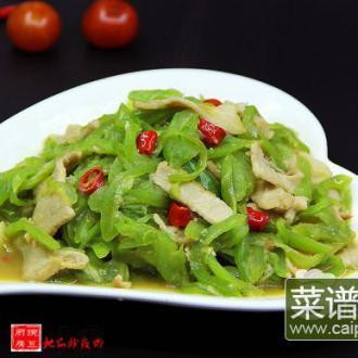 #润秋燥#蛇瓜炒瘦肉