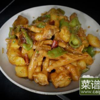 鸡爪土豆煲