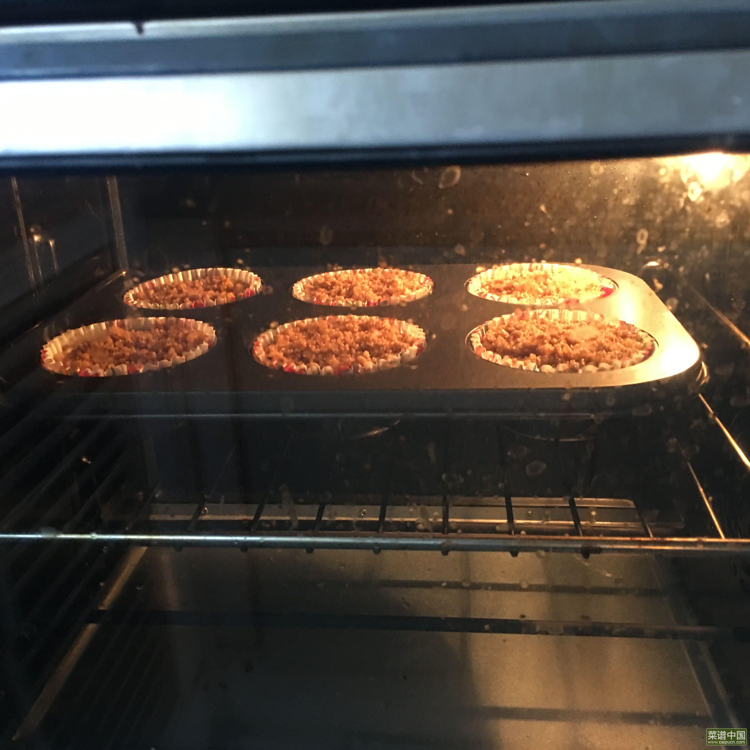 肉桂酥粒蓝莓马芬的做法步骤8