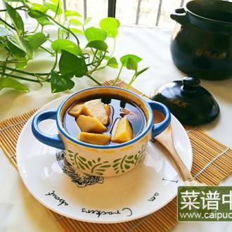 砂锅版白薯煲糖水