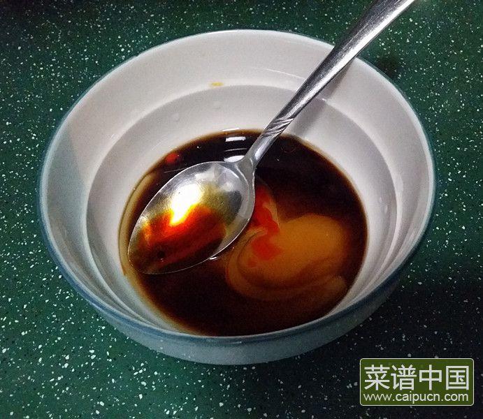 香菜臭干拌花生米的做法步骤5