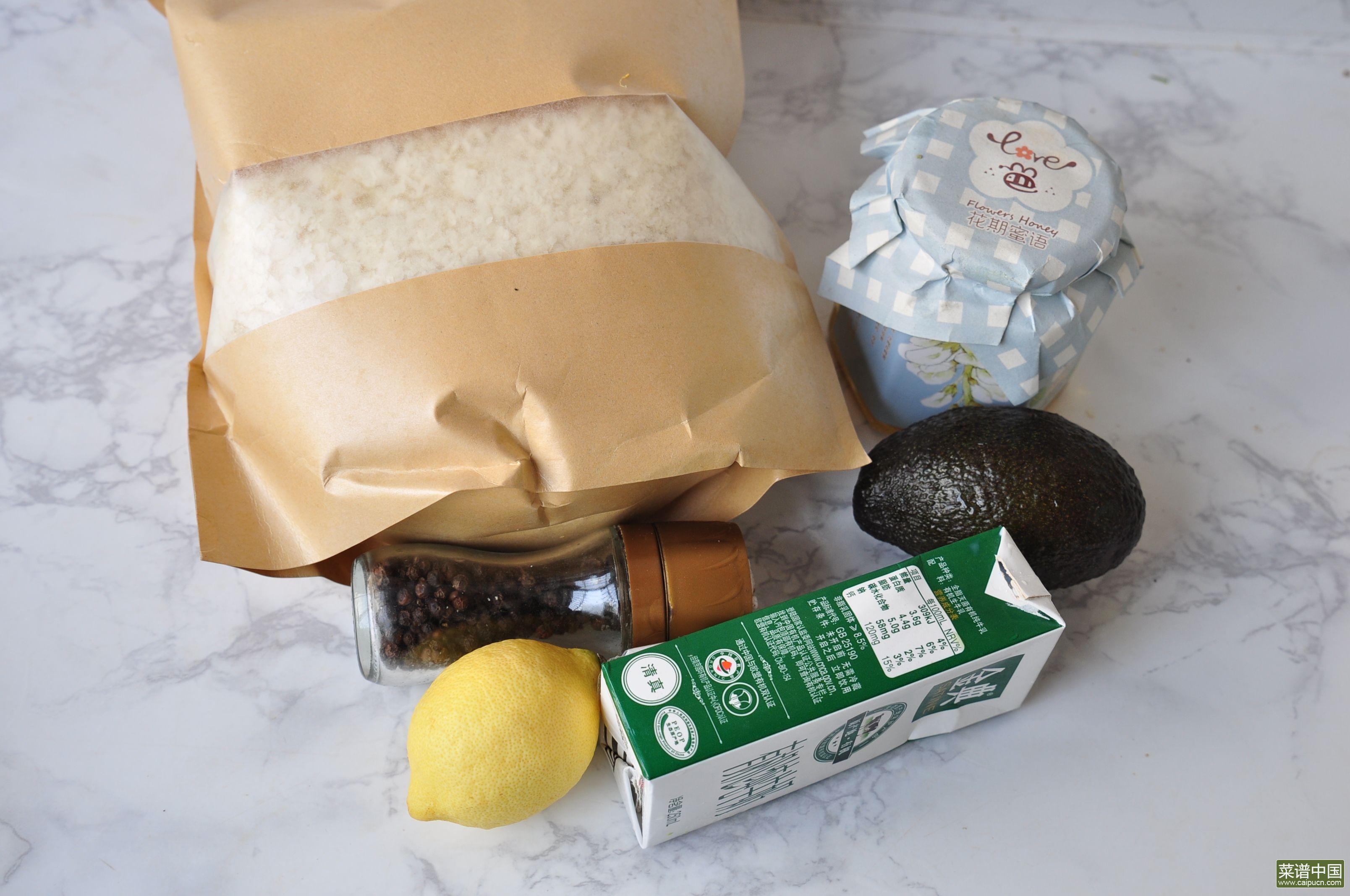 牛油果土豆泥的做法步骤1