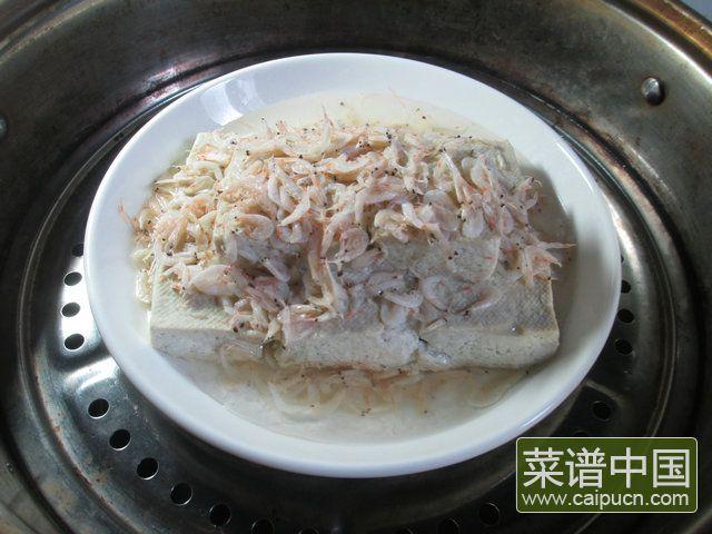 虾皮蒸臭豆腐的做法步骤6