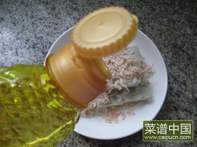 虾皮蒸臭豆腐的做法步骤4