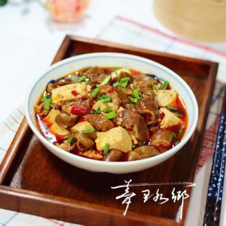 肥肠烧豆腐