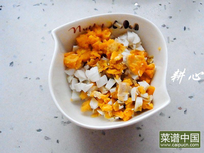 咸鸭蛋银鱼紫菜汤的做法步骤2