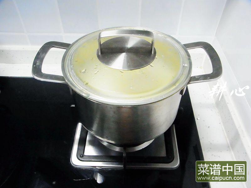 咸鸭蛋银鱼紫菜汤的做法步骤5