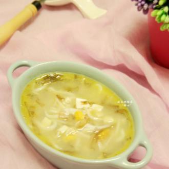 咸鸭蛋银鱼紫菜汤