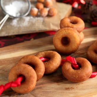 圣诞甜甜圈