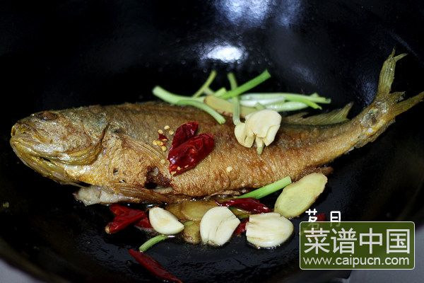红烧黄花鱼的做法步骤4