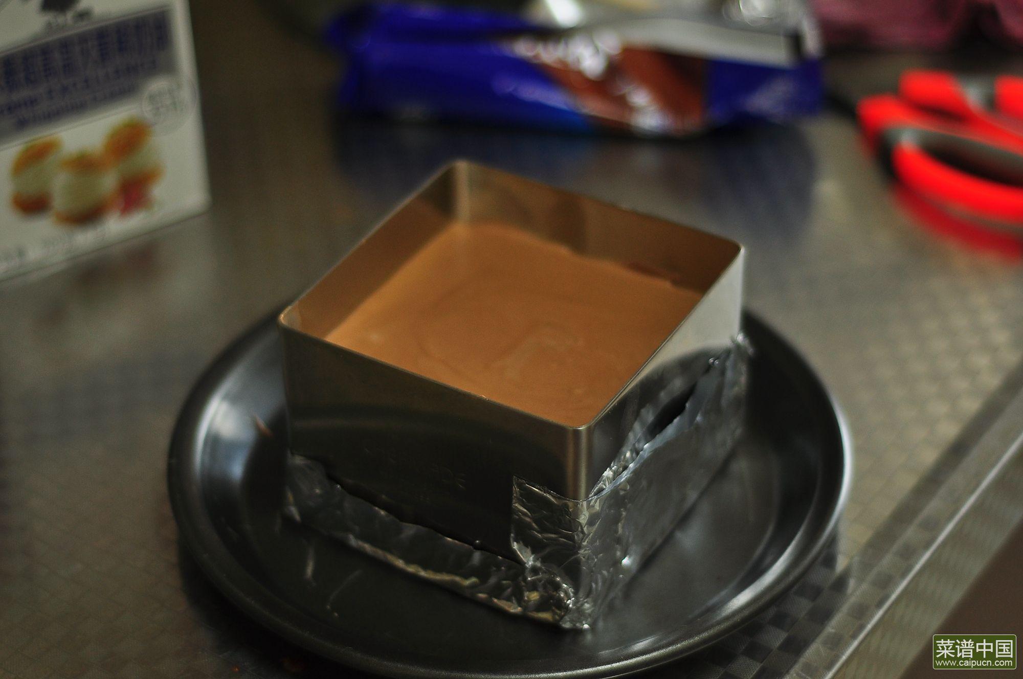 奥利奥巧克力慕斯的做法步骤13