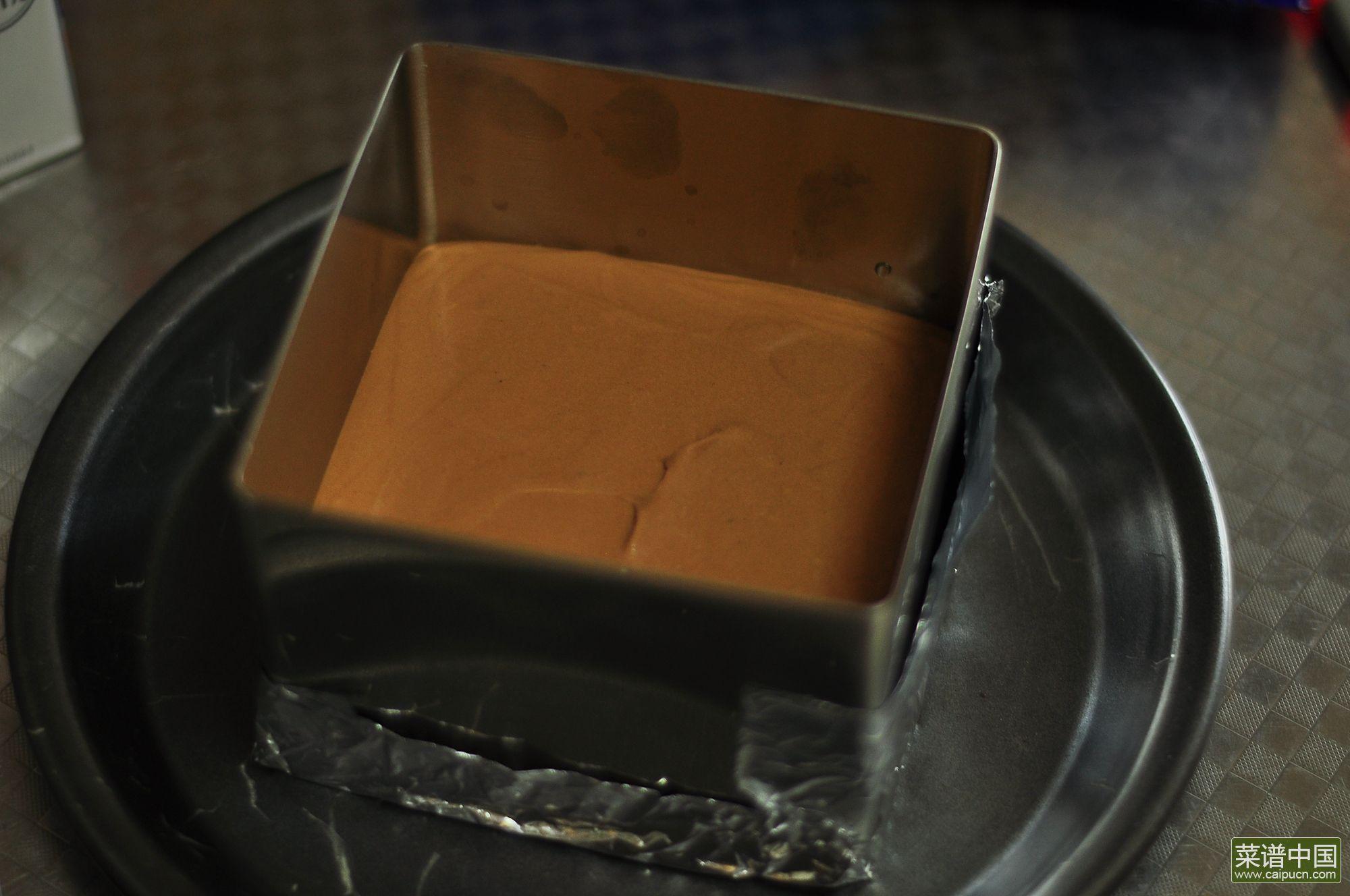 奥利奥巧克力慕斯的做法步骤11