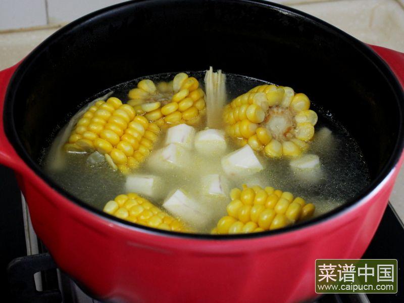 玉米棒土鸡汤#午餐#的做法步骤8