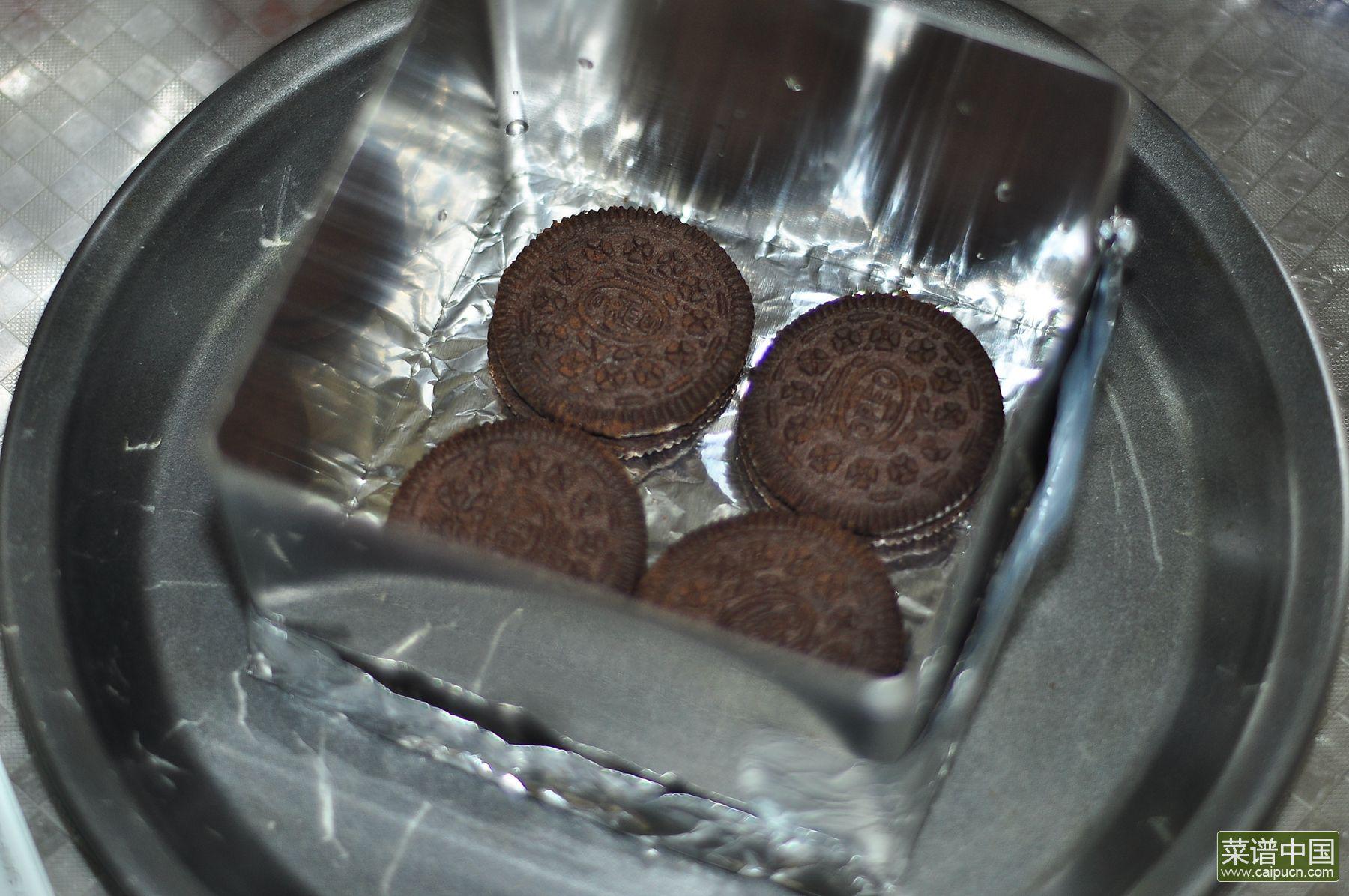 奥利奥巧克力慕斯的做法步骤8