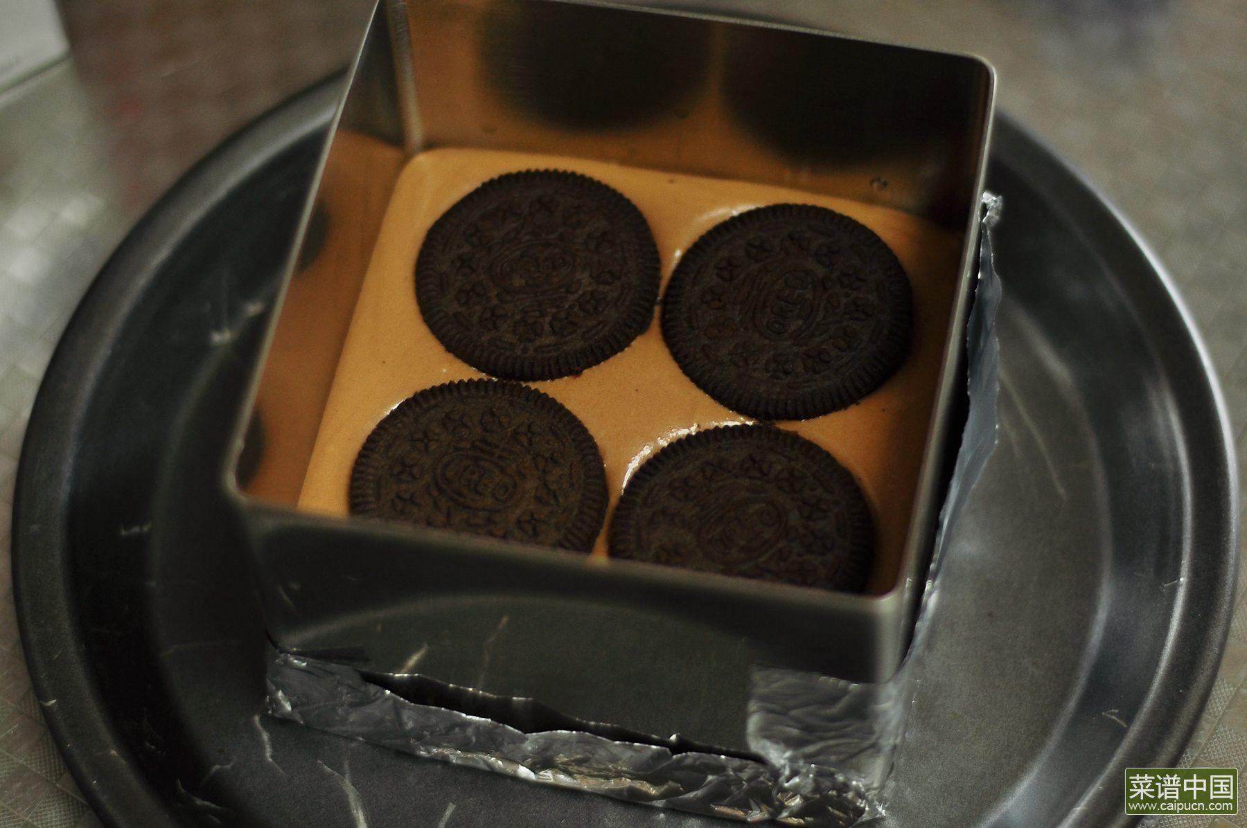 奥利奥巧克力慕斯的做法步骤12
