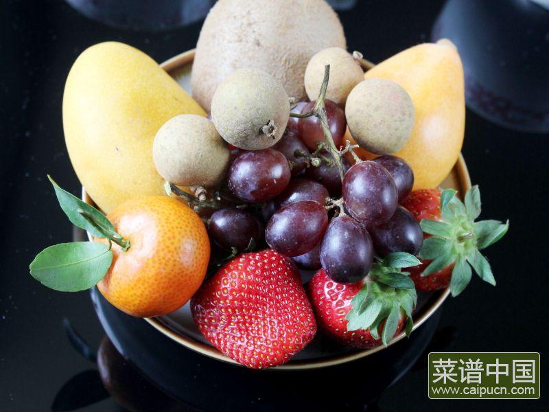 蜜汁水果石花膏的做法步骤10