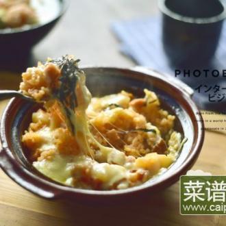 韩式焗芝士饭