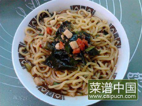韩式酱汤拉面的做法步骤7
