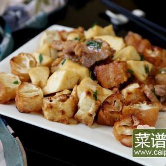 油条春笋炒肉