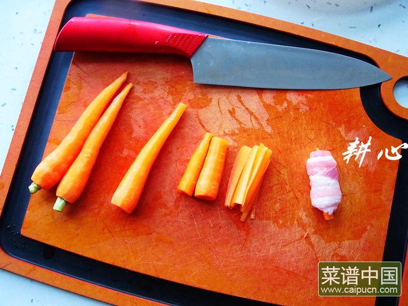 原味五花肉卷的做法步骤2