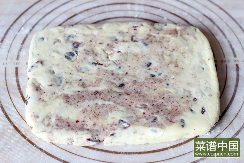 蔓越莓核桃司康饼的做法步骤7