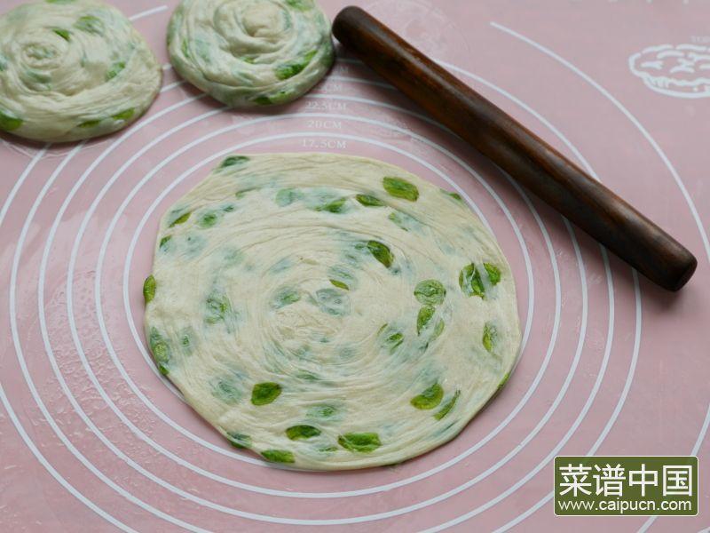 榆树钱手抓饼的做法步骤9