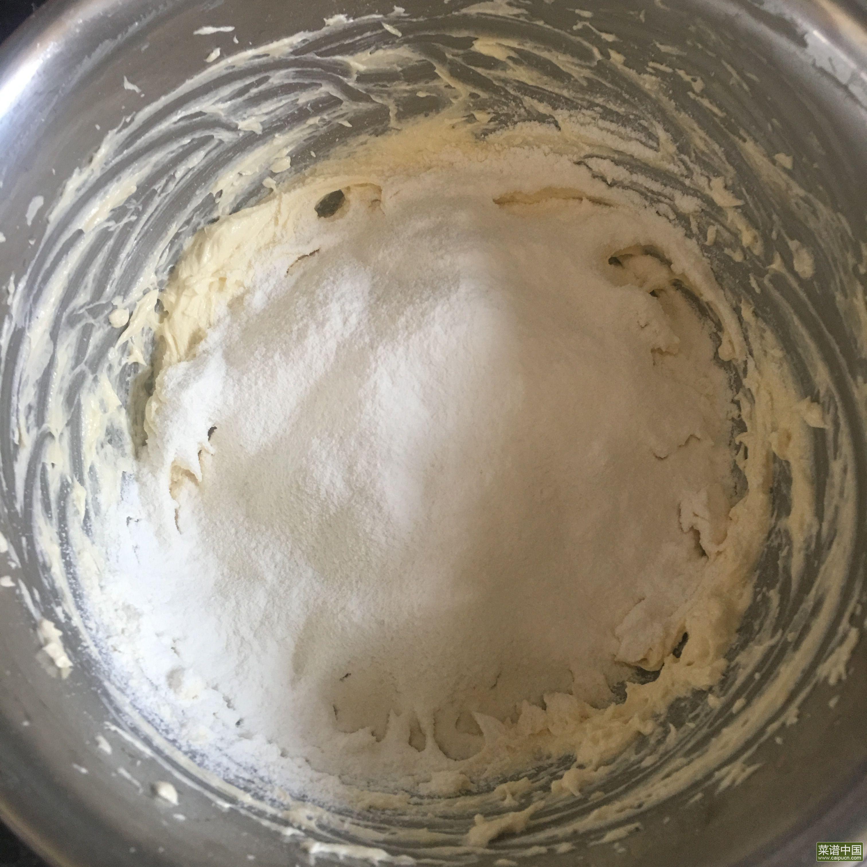 酥粒蓝莓马芬蛋糕的做法步骤4