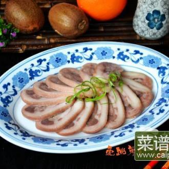白切咸猪头肉