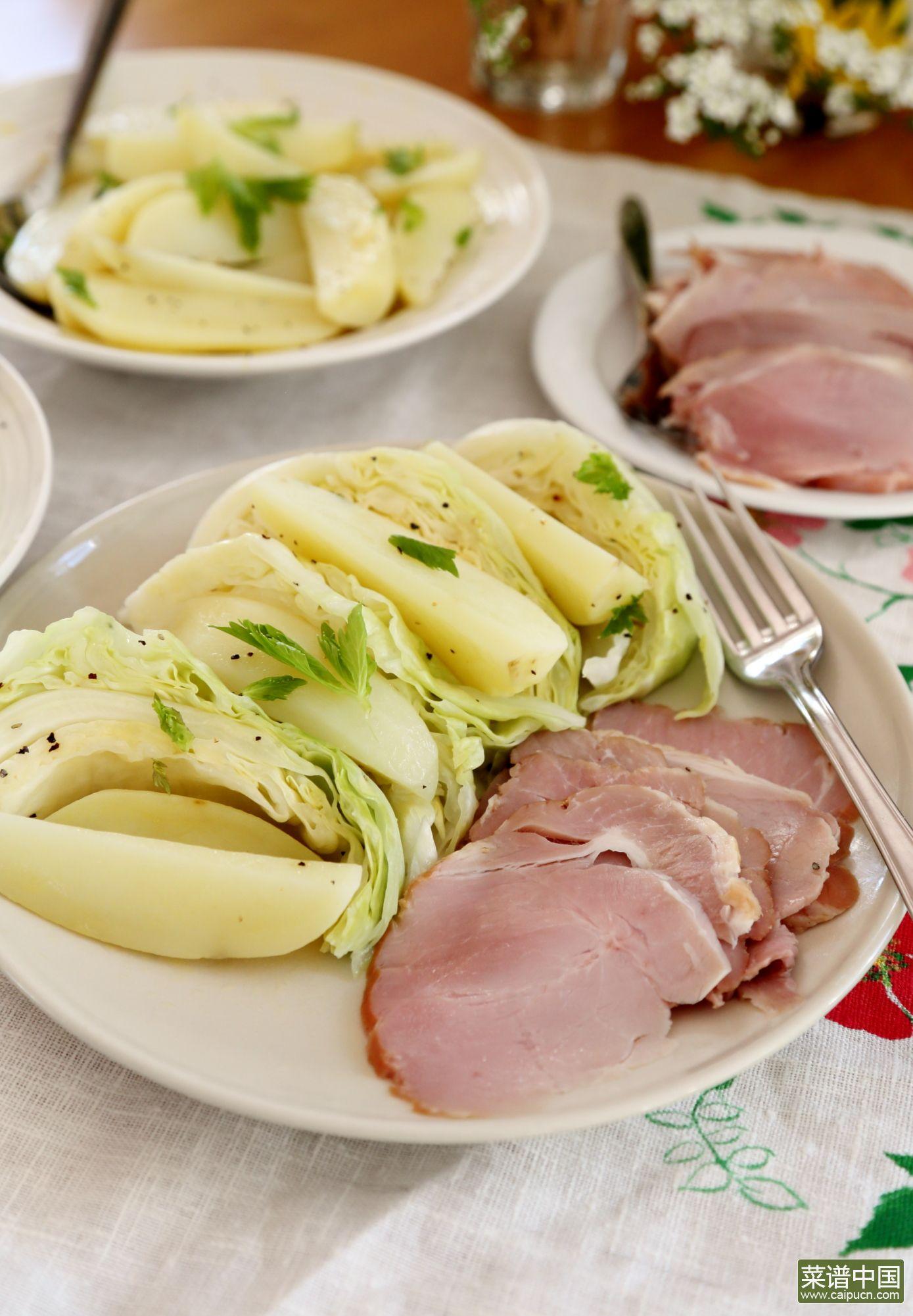 挪威夏天轻食晚餐的做法步骤11