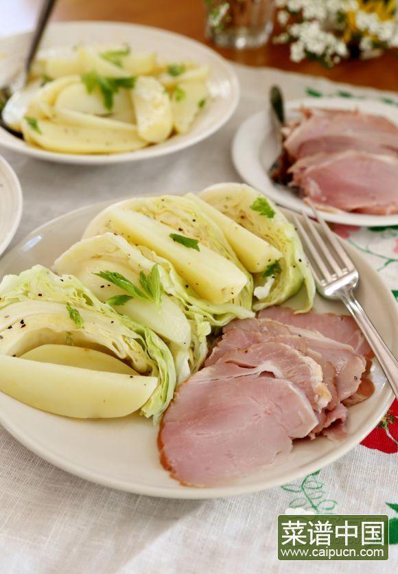 挪威夏天轻食晚餐