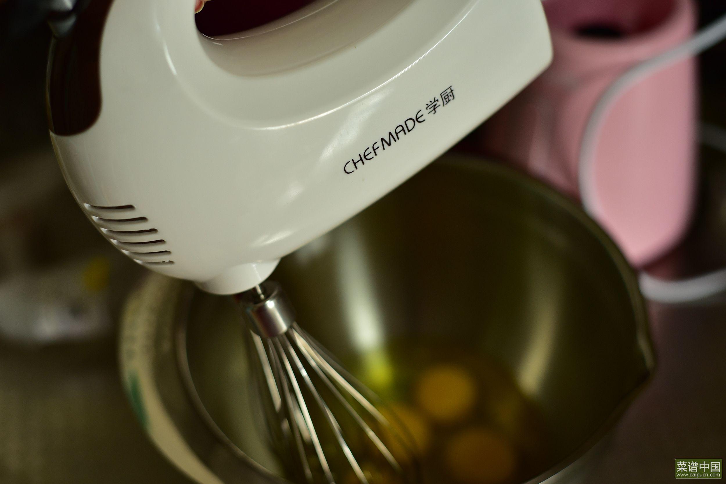 红豆脆皮小蛋糕的做法步骤4