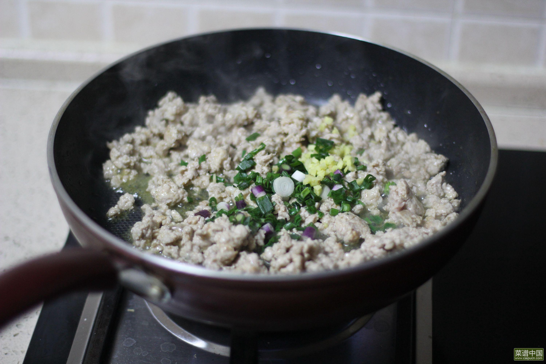 肉酱米粉的做法步骤8