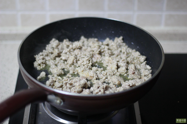 肉酱米粉的做法步骤7