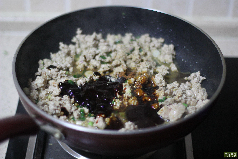 麻辣肉酱粉的做法步骤3