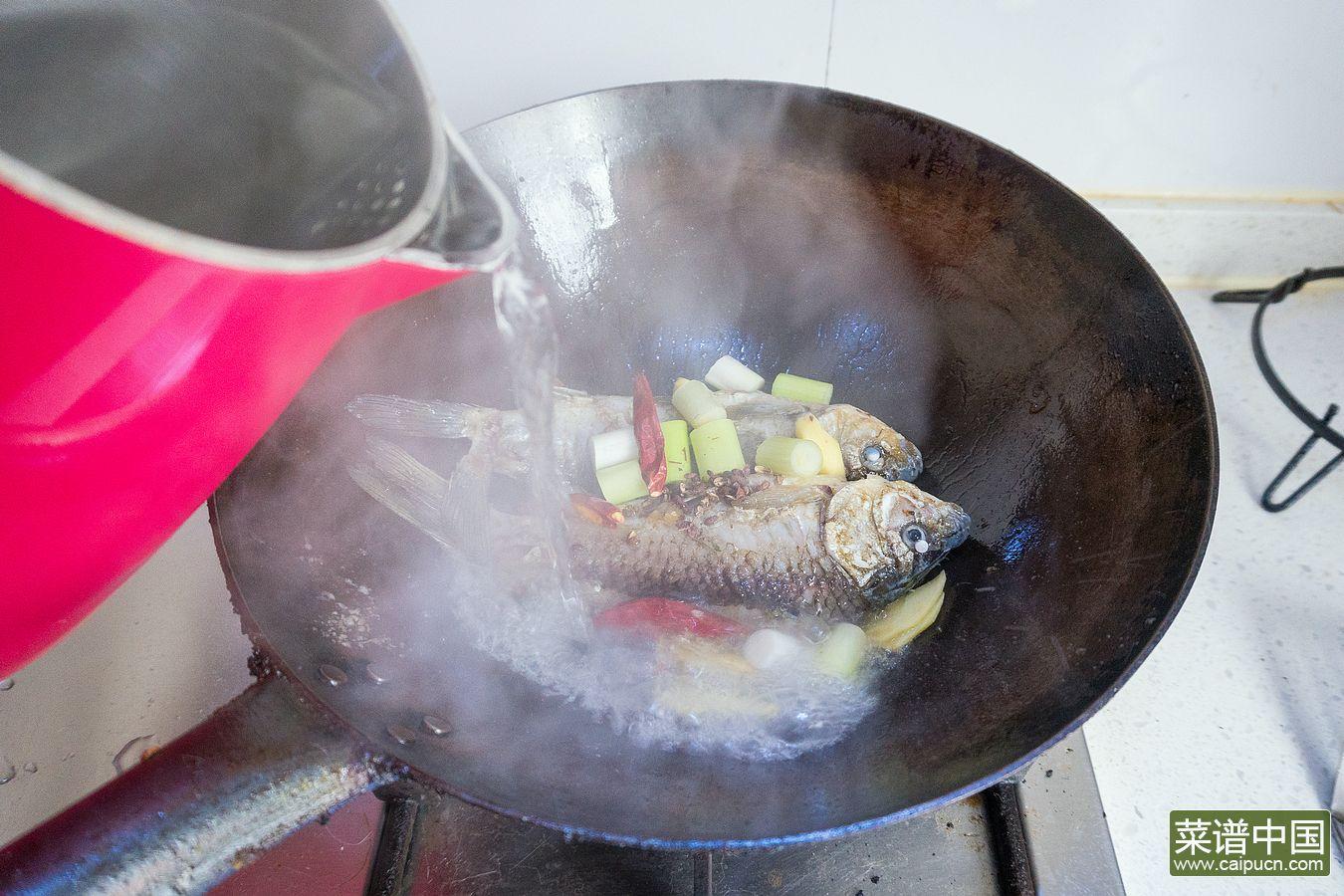 鲫鱼汤的做法步骤7