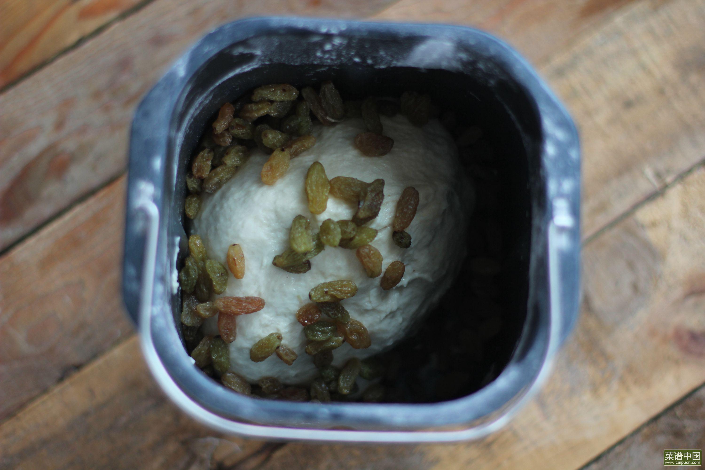 葡萄干面包球的做法步骤4