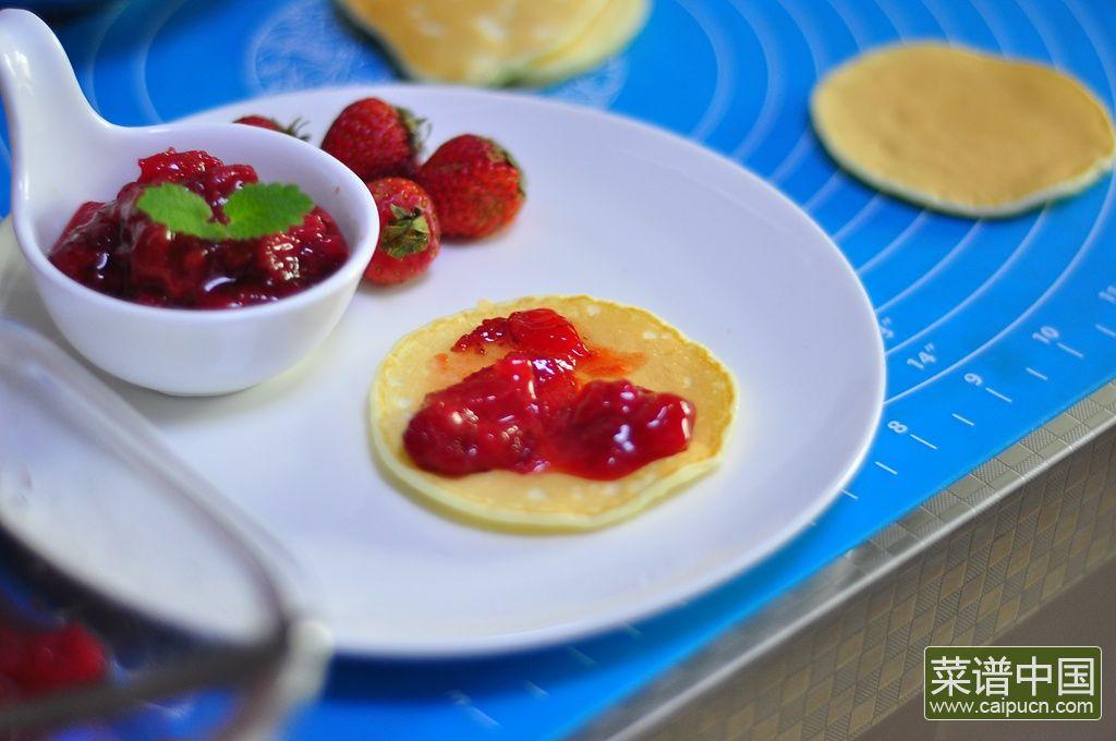 草莓松饼的做法步骤9