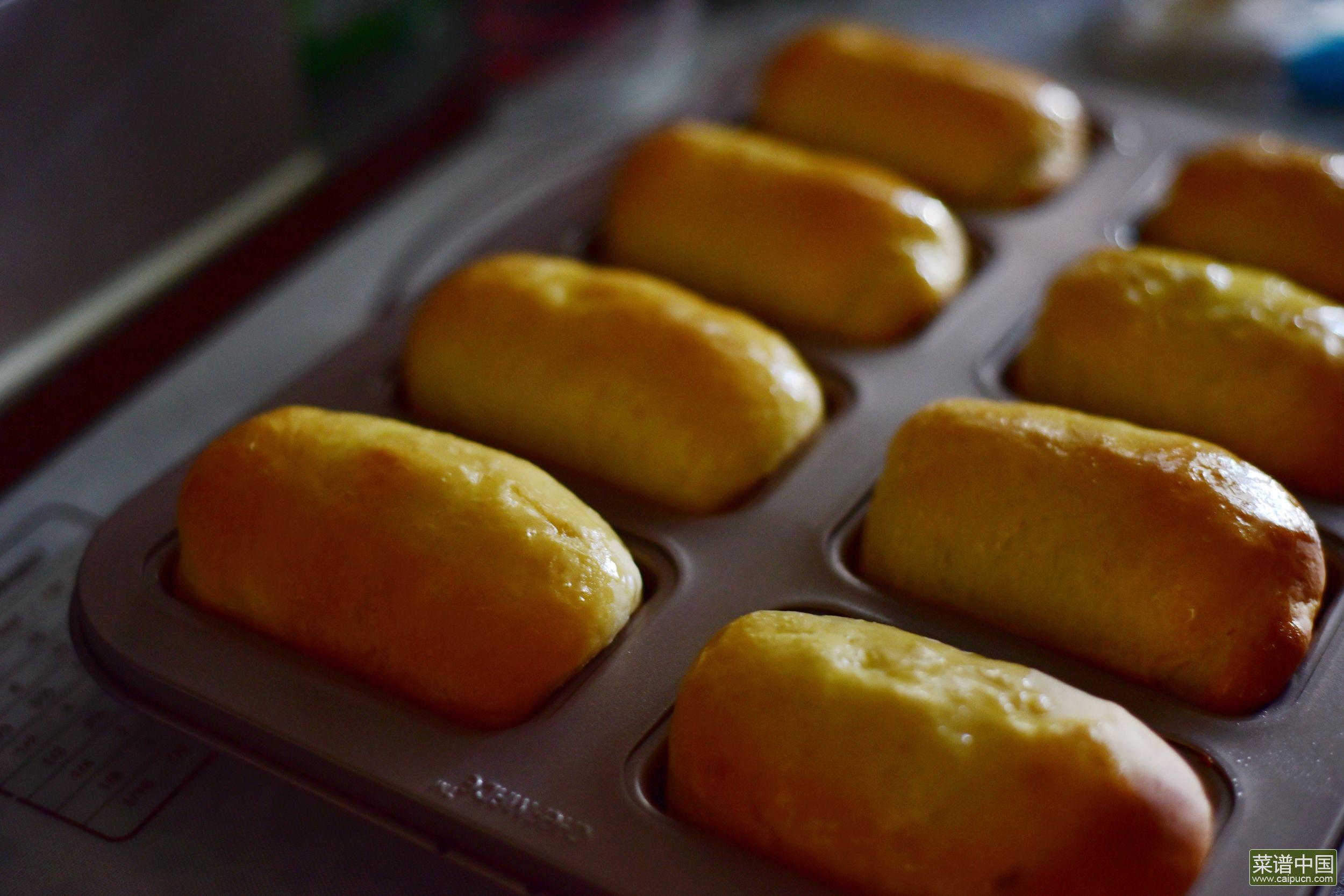 哈尔滨风味小面包的做法步骤14