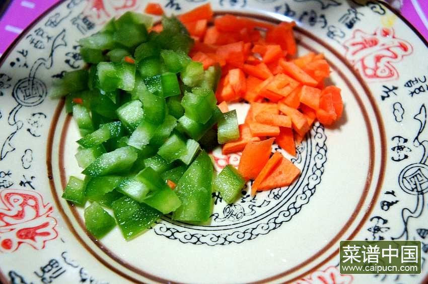 浇汁臭豆腐的做法步骤1