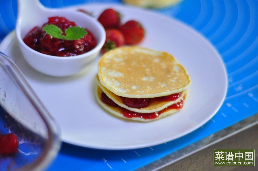 草莓松饼的做法步骤10