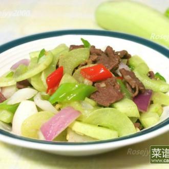 牛肉炒农家菜