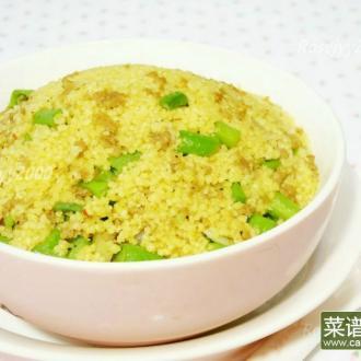 豇豆玉米快食饭Couscous
