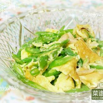 四季豆萝卜干炒蛋